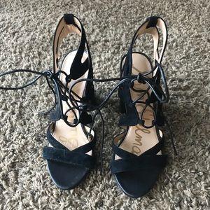 Black Sam Edelman heels size 7